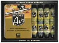 71181 Model Air - Metallic Effects Set