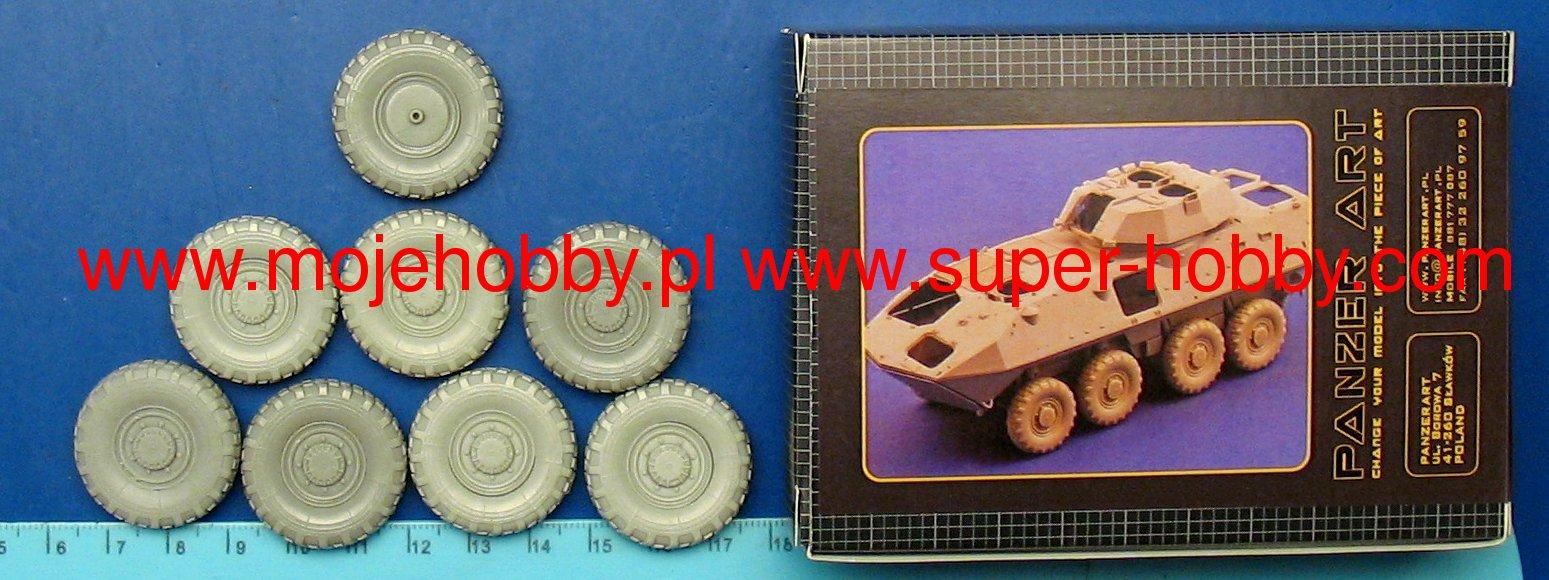 PANZER ART RE35-179 1//35 Wheels for ASLAV-25