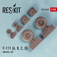General Dynamics F-111 (A, B, C, D)  wheels set - Image 1