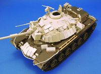 IDF Magach3 w/Blazer Armor Conversion set Tamiya M48