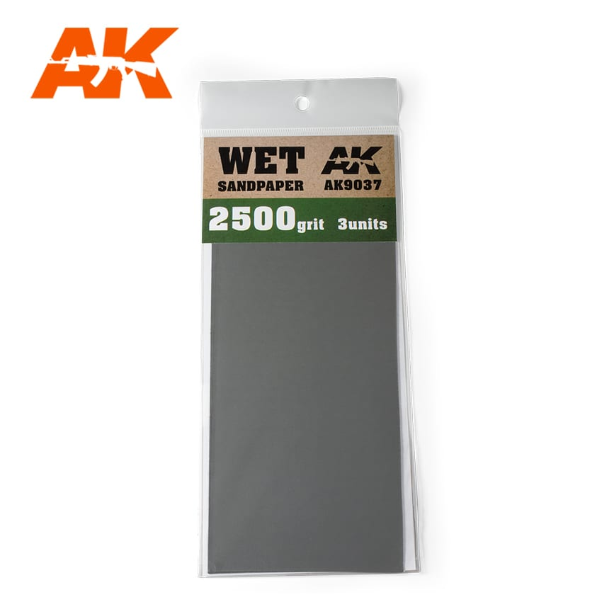WET SANDPAPER 2500 - Image 1