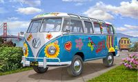 VW T1 Samba Bus Flower Power