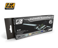 AK 2020 LUFTWAFFE CAMOUFLAGES 2 Colors Set