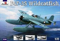 "Grumman F4F-3S Wildcatfish Floatplane Version of F4F-3 ""Wildcat"""