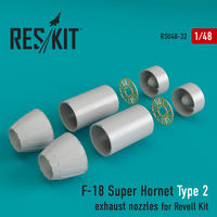 F-18 Super Hornet Type 2  exhaust nozzles for Revell Kit - Image 1