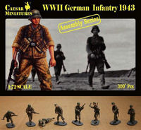 German Infantry 1943 (ASSEMBLY SERIES) - Image 1