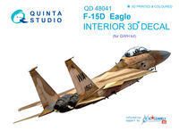 F-15D 3D-Printed & coloured Interior on decal paper