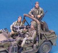 IDF M151 Shimira Crews Set 3 figures