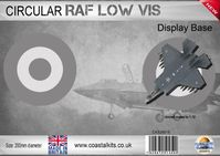 Circular Display Base Royal Air Force Low Vis 200mm - Image 1