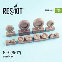 Mi-8 (Mi-17) wheels set
