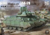 T-34E (First Type of Spaced Armour) T-34/76 (112 factory) - Image 1