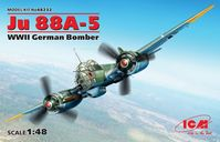 Ju 88A-5, WWII German Bomber (100% new molds)