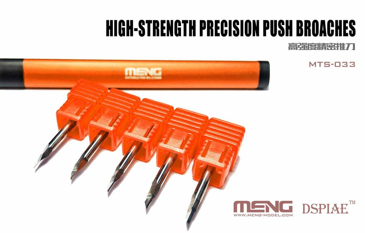 Shank Dia 3.175mm Chisel Dspiae 0.3mm Tungsten Steel Push Broach